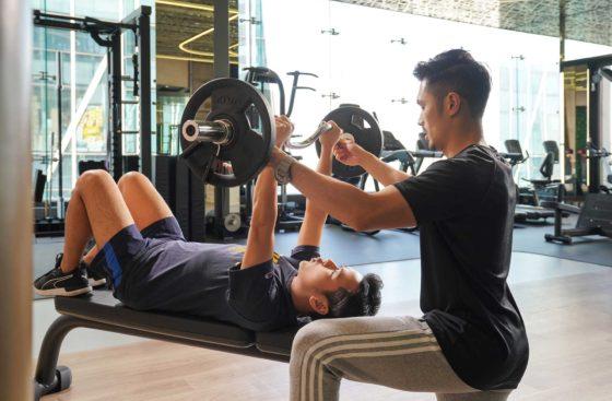 一對一健身訓練